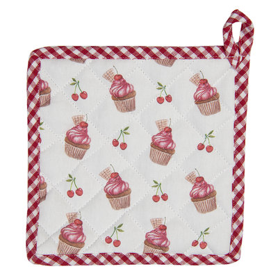 Clayre & Eef Topflappen Cup Cake