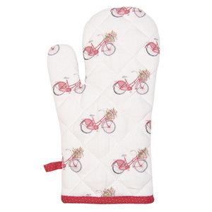 Clayre & Eef Ofenhandschuh Bicycle