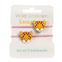 Rex London Hair ties Leopard