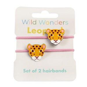 Rex London Hair ties Leopard
