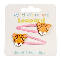 Rex London Hair clips Leopard