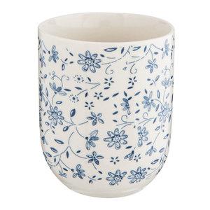 Clayre & Eef Mug Climbing Flowers blue