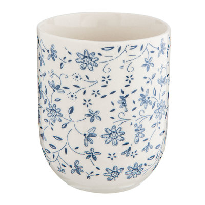 Clayre & Eef Becher Climbing Flowers blue
