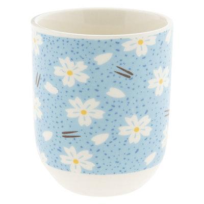 Clayre & Eef Mug Daisies blue