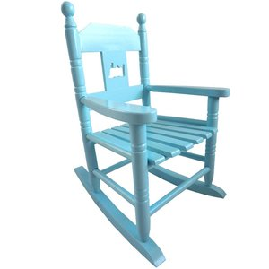 Powell Craft Rocking chair blue