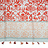 M&K Collection Scarf Tassel Marrakech-red