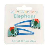 Rex London Hair clips Elephant