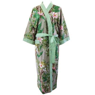 Powell Craft Dressing gown Stargazer grey
