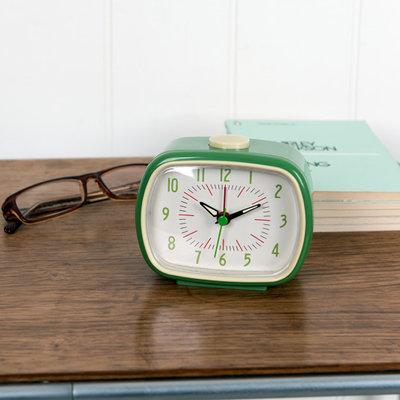 Rex London Retro Clock Green