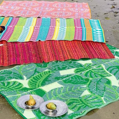 Talking Tables Outdoor-Rug Fiesta Palm