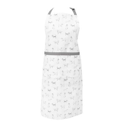 Clayre & Eef Kitchen apron Dogs