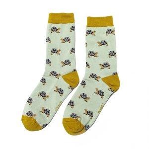 Miss Sparrow Socks Bamboo Turtle duck egg