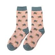 Miss Sparrow Socks Bamboo Turtle pink