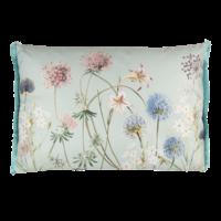Clayre & Eef Cushion 60 x 40 Garden Flowers blue