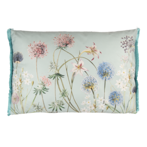 Clayre & Eef Kissen 60 x 40 Garden Flowers blue