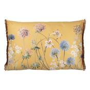 Clayre & Eef Kissen 60 x 40 Garden Flowers yellow