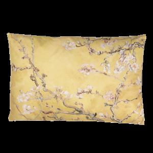 Clayre & Eef Cushion 60 x 40 Cherry Flowers yellow