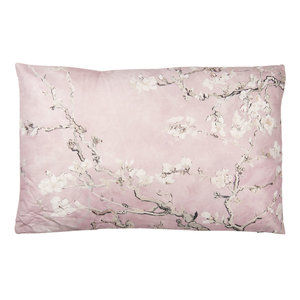 Clayre & Eef Cushion 60 x 40 Cherry Flowers pink