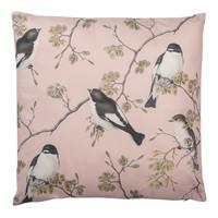 Clayre & Eef Kissen 45 x 45 Magnolia Birds pink