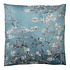 Clayre & Eef Cushion 45 x 45 Cherry Blossom blue