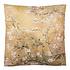 Clayre & Eef Cushion 45 x 45 Cherry Blossom yellow