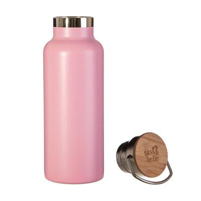 Sass & Belle Edelstahl-Flasche pink