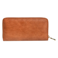 Clayre & Eef Wallet Leatherlook brown