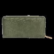 Clayre & Eef Geldbörse Leatherlook green