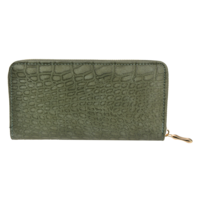Clayre & Eef Wallet Leatherlook green