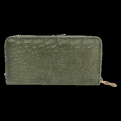 Clayre & Eef Wallet Leatherlook green