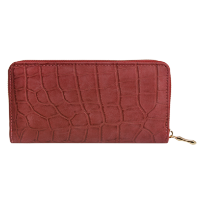 Clayre & Eef Geldbörse Leatherlook rood