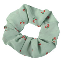 Clayre & Eef Scrunchie Cherries duck egg