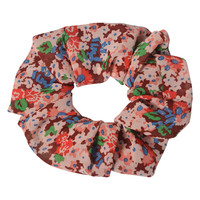 Clayre & Eef Scrunchie Flowers red