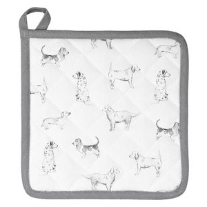 Clayre & Eef Potholder Dogs