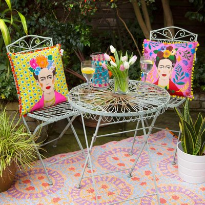 Talking Tables Kissen Frida Kahlo yellow new