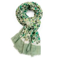 M&K Collection Schal Mermaid Scale green