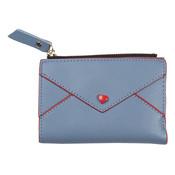 Clayre & Eef Wallet Heart blue