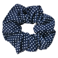 Clayre & Eef Scrunchie Dots blue