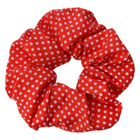 Clayre & Eef Scrunchie Dots red
