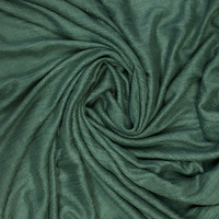 Pure & Cozy Scarf Cotton / Wool green teal