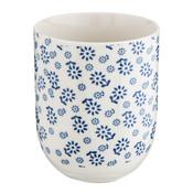 Clayre & Eef Becher Little Flowers blue