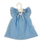 Olimi Doll dress Miniland 38cm Uni jeans