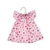 Olimi Doll dress Miniland 38cm Flower Flower Rosettes pink