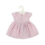 Olimi Puppenkleid Miniland 38cm Starry Sky powdery pink