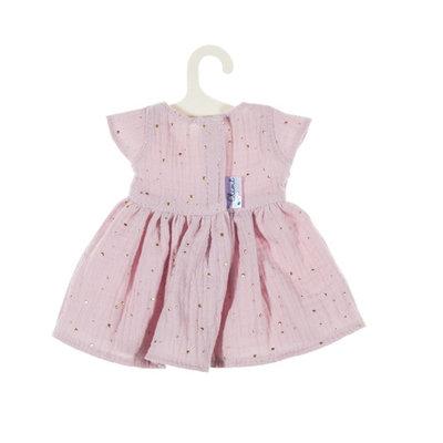 Olimi Doll dress Miniland 38cm Starry Sky powdery pink