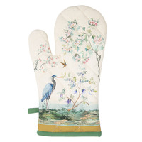 Clayre & Eef Oven mitt Paradise Bird
