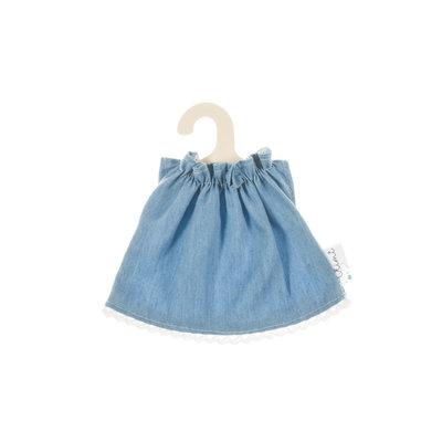 Olimi Doll dress Miniland 21cm jeans