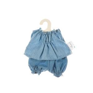 Olimi Doll Clothing Set Miniland 21cm shirt and Jeans