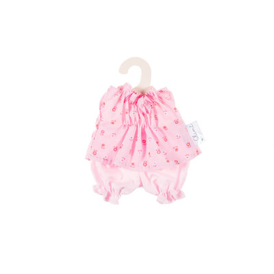 Olimi Puppenkleidungs-Set Miniland 21cm Bloomers pink flowers