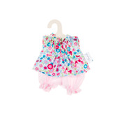 Olimi Doll Clothing Set Miniland 21cm Bloomers meadow turquoise